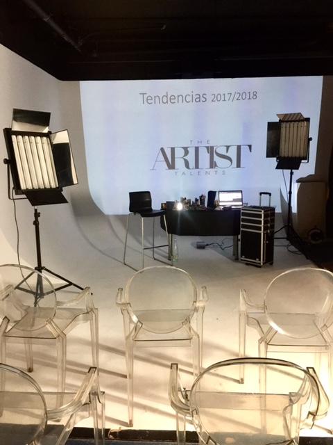 Escuela de maquillaje y estudio de fotografía· The Artistalentschool