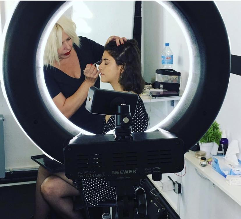 cursos de maquillaje profesional- TATmakeupschool