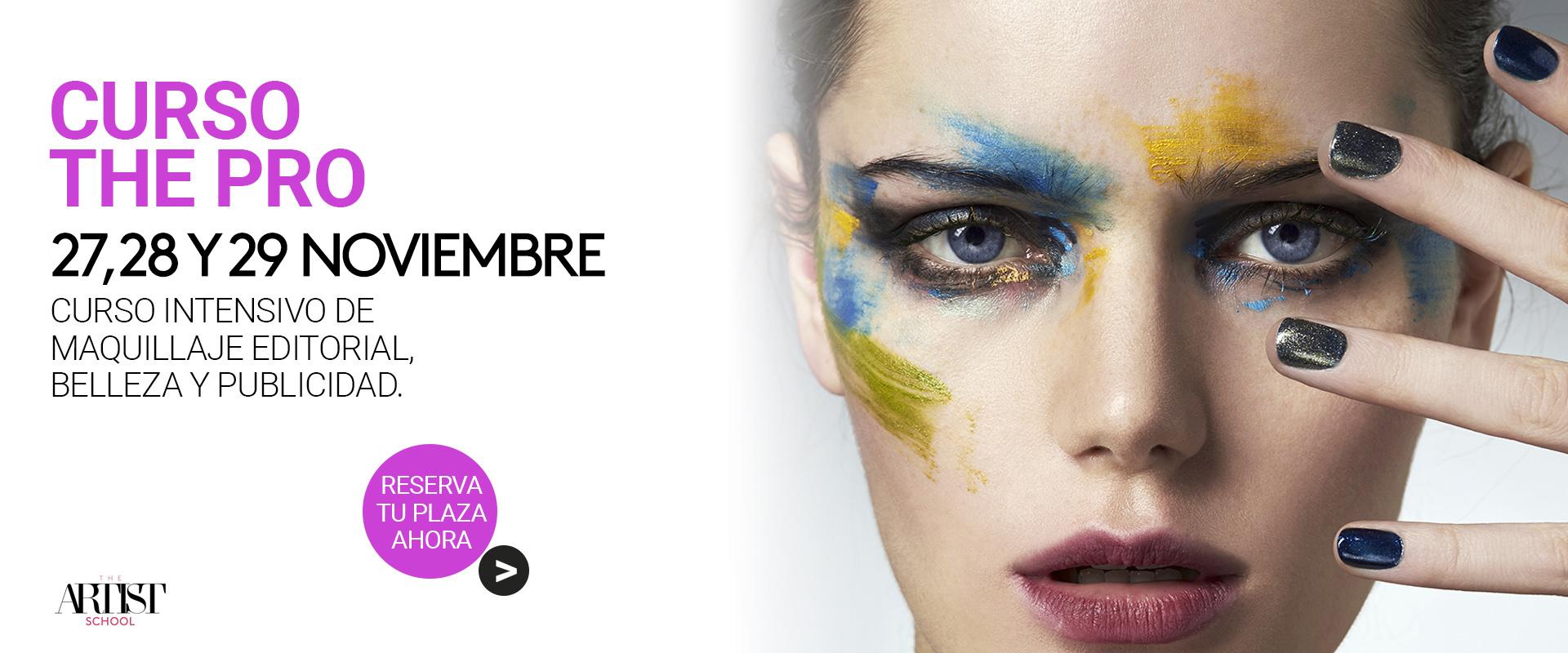Curso The Pro de maquillaje